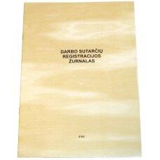 Darbo sutarčių registravimo žurnalas