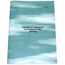 Einamųjų sąskaitų ir atsiskaitymų knyga