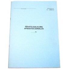Išduotų įgaliojimų apskaitos žurnalas
