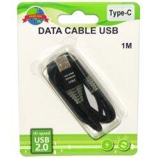 Kabelis USB Type-C