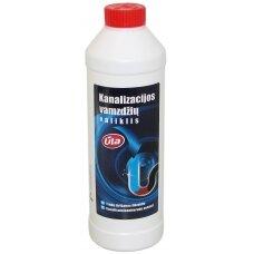 Kanalizacijos vamzdžių valiklis