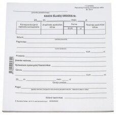 Kasos išlaidų orderis