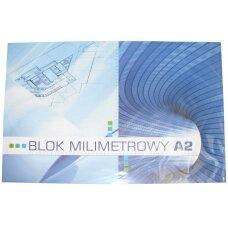 Milimetrinis popierius A2