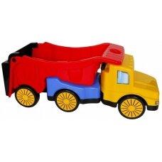 Sunkvežimis paspirtukas su priekaba