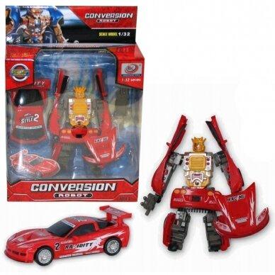 Transformeris - mašina