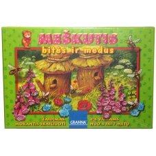 Žaidimas Meškutis, bitės ir medus